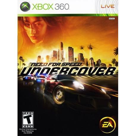 Need For Speed Undercover برای Xbox 360