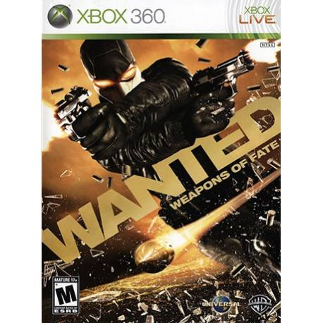 Wanted: Weapons of Fate برای Xbox 360