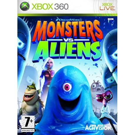 Monsters vs. Aliens برای Xbox 360