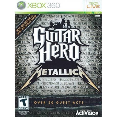 Guitar Hero Metallica برای Xbox 360