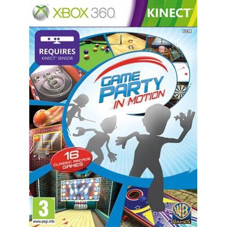 بازی Game Party in Motion برای Kinect