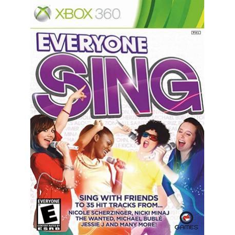 Everyone Sing برای Xbox 360