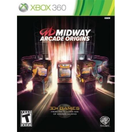 Midway Arcade Origins بازی Xbox 360
