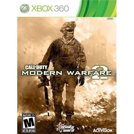 2 Call of Duty Modern Warfare بازی Xbox 360
