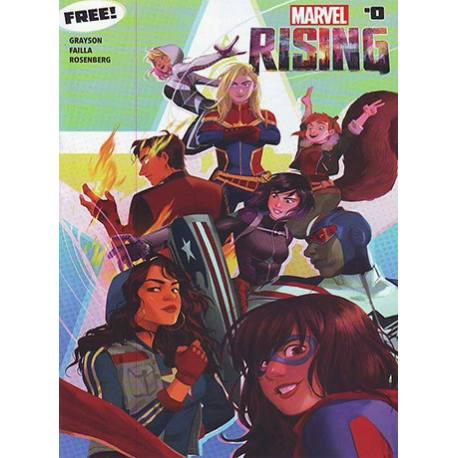 کتاب کمیک Marvel Rising