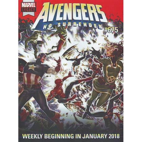 کمیک بوک Avengers No Surrender