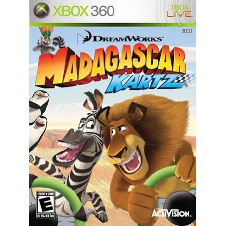 Madagascar Kartz بازی Xbox 360