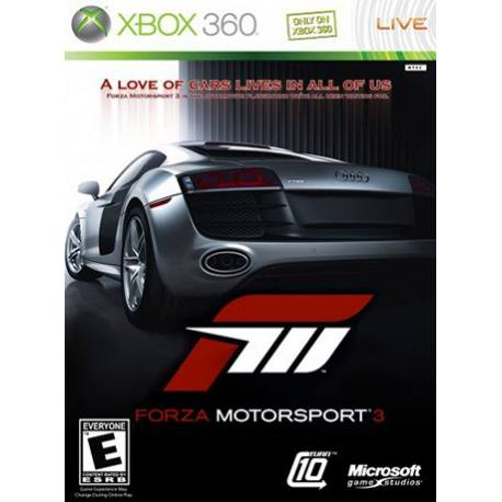 Forza Motorsport 3 بازی Xbox 360