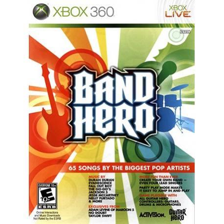 Band Hero بازی Xbox 360