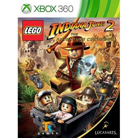 Lego Indiana Jones 2 بازی Xbox 360