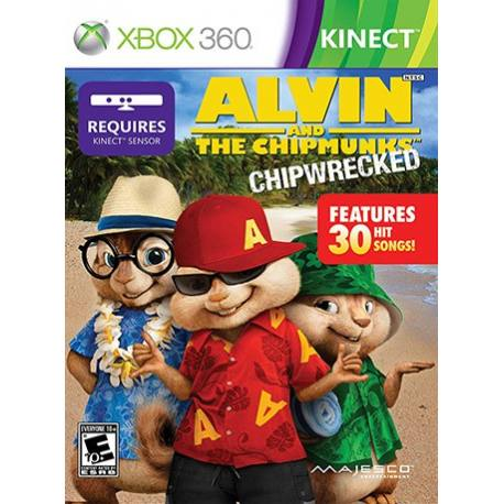 Alvin and the Chipmunks Chipwrecked بازی Xbox 360