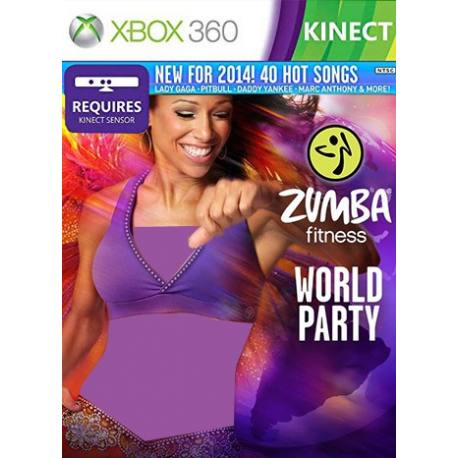 Zumba Fitness World Party بازی Xbox 360
