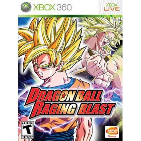 Dragon Ball Raging Blast بازی Xbox 360