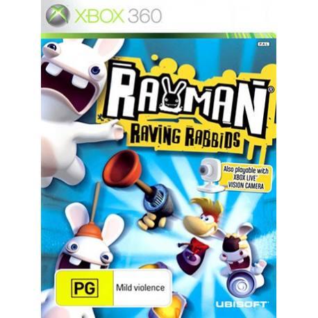 Rayman Raving Rabbids بازی Xbox 360