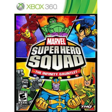 Marvel Super Hero Squad Infinity Gauntlet بازی Xbox 360
