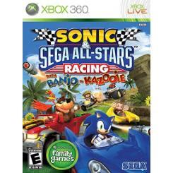 Sonic & Sega All-Stars Racing بازی Xbox 360