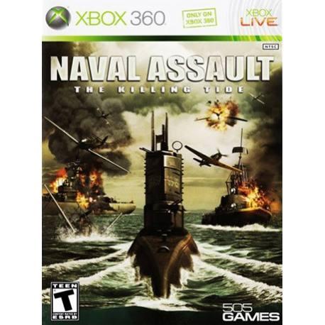 Naval Assault بازی Xbox 360
