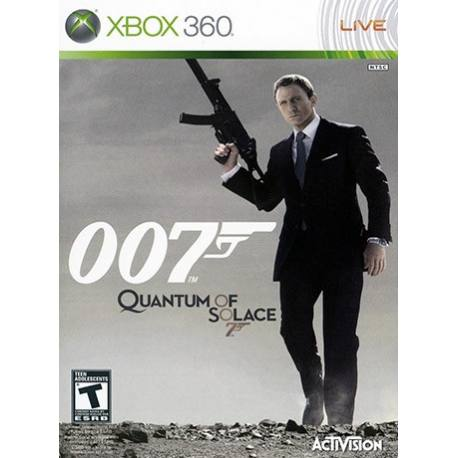 James Bond 007: Quantum of Solace بازی Xbox 360