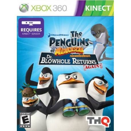 بازی Penguins of Madagascar برای Kinect