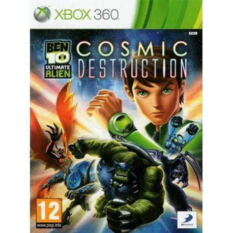 Ben 10 Ultimate Alien بازی Xbox 360
