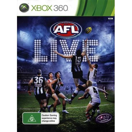 AFL Live بازی Xbox 360