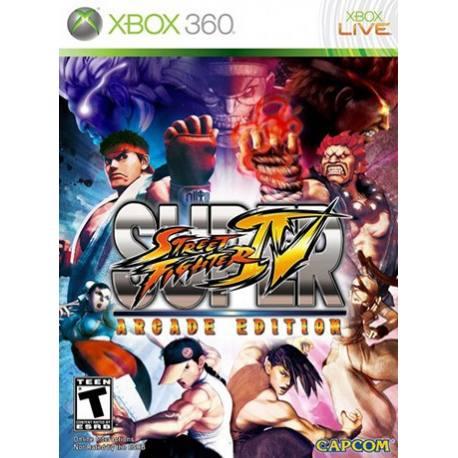 Super Street Fighter IV Arcade Edition بازی Xbox 360