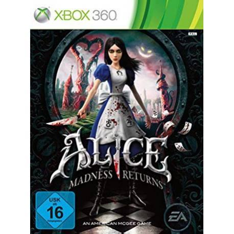 Alice Madness Returns بازی Xbox 360