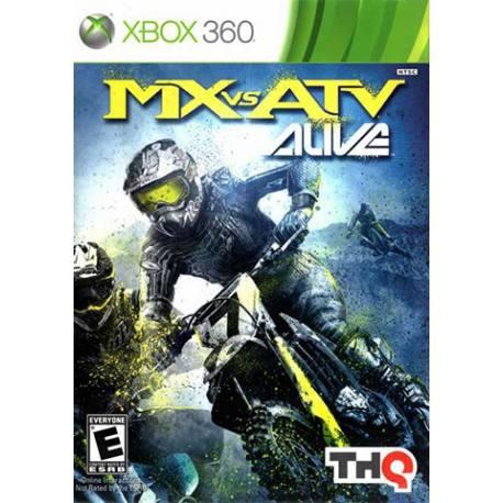Mx vs ATX Alive بازی Xbox 360