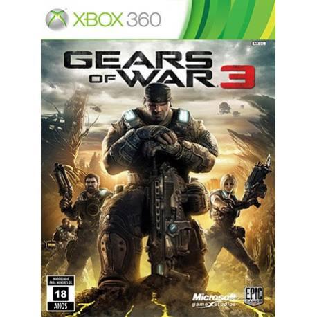 Gears of War 3 بازی Xbox 360