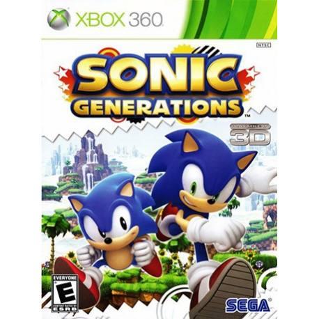 Sonic Generations بازی Xbox 360