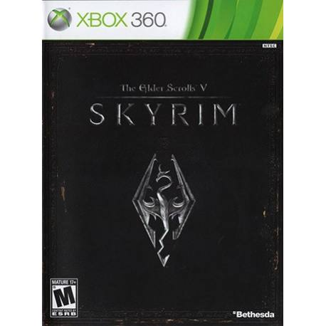 The Elder Scrolls V Skyrim بازی Xbox 360
