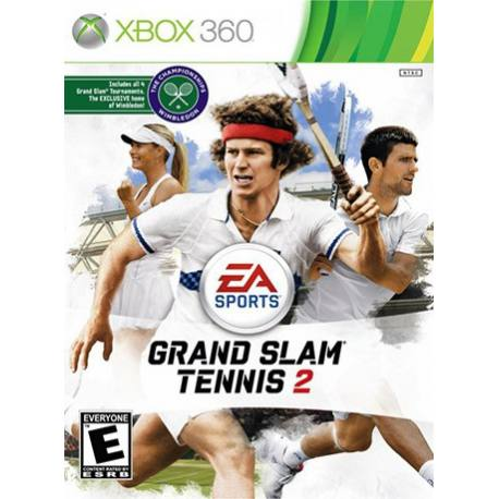 Grand Slam Tennis 2 بازی Xbox 360