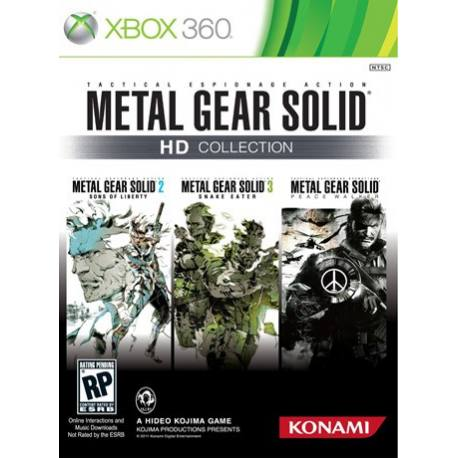 Metal Gear Solid HD Collection بازی Xbox 360