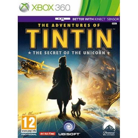 Tintin: The Secret of the Unicorn بازی Xbox 360