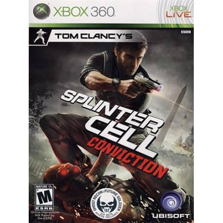Splinter Cell: Conviction بازی Xbox 360