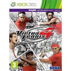 Virtua Tennis 4 بازی Xbox 360