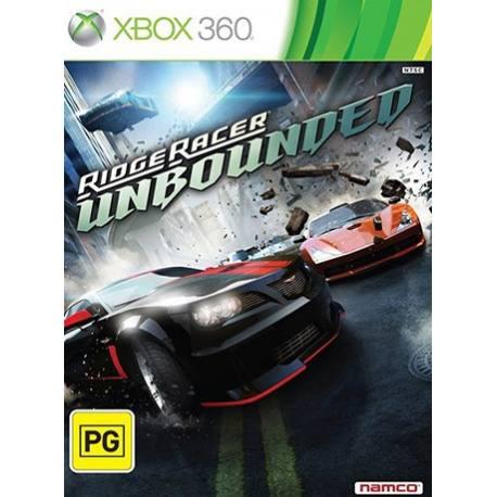 Ridge Racer Unbounded بازی Xbox 360