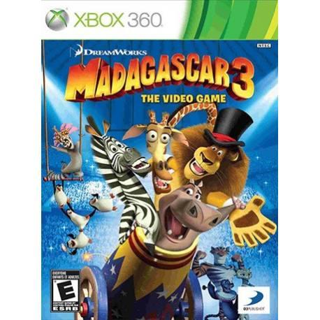 Madagascar 3 بازی Xbox 360