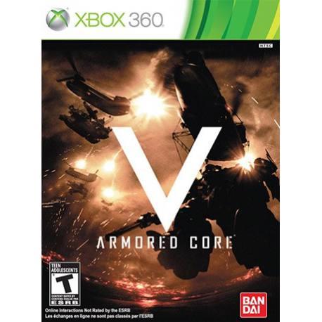 Armored core V بازی Xbox 360