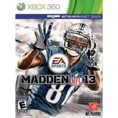 Madden NFL 13 بازی Xbox 360