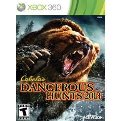 Cabela's dangerous hunt 2013 بازی Xbox 360