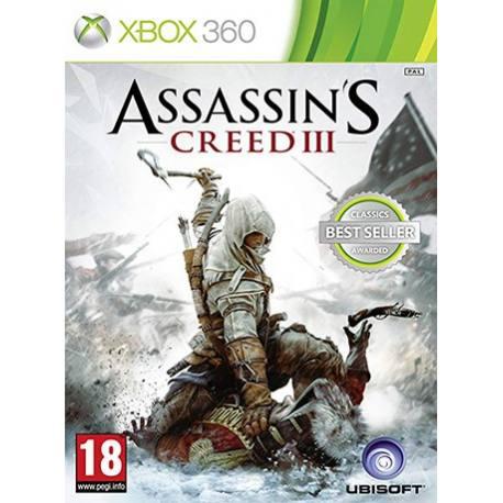 Assassins Creed III بازی Xbox 360