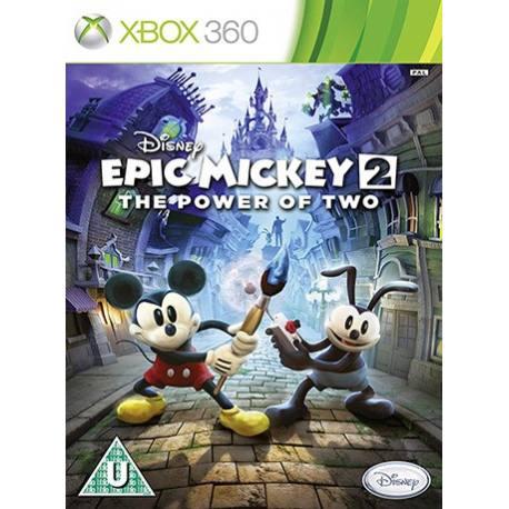 Epic Mickey 2: The Power of Two بازی Xbox 360