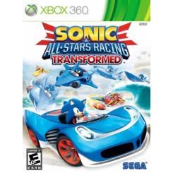 Sonic All Stars Racing Transformed بازی Xbox 360
