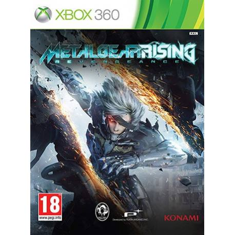 Metal Gear Rising Revengeance بازی Xbox 360