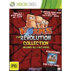 Worms revolution بازی Xbox 360