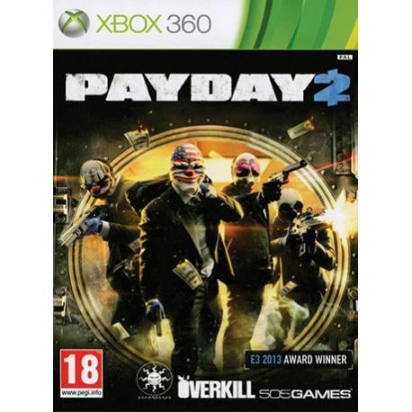 Payday 2 بازی Xbox 360