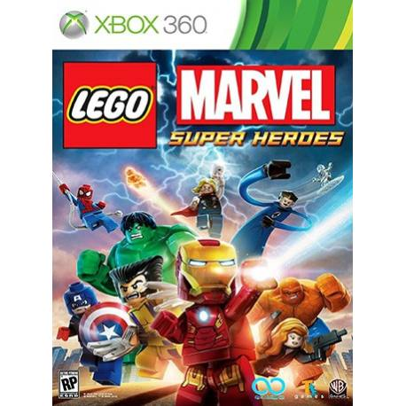 Lego Marvel Super Heroes بازی Xbox 360