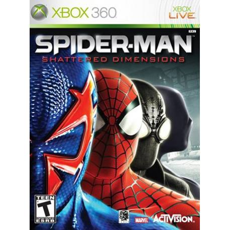 Spider-Man Shattered Dimensions بازی Xbox 360