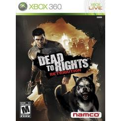 Dead to Rights: Retribution بازی Xbox 360
